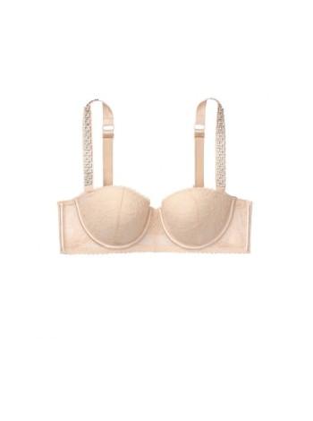 Бюстгальтер Victoria's Secret Lightly Lined Jewel Strap Bra Champagne