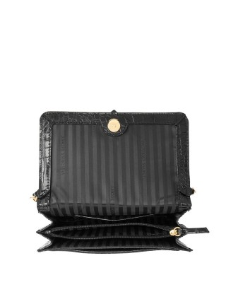 Кросс-боди Victoria's Secret The Victoria Medium Shoulder Bag Black