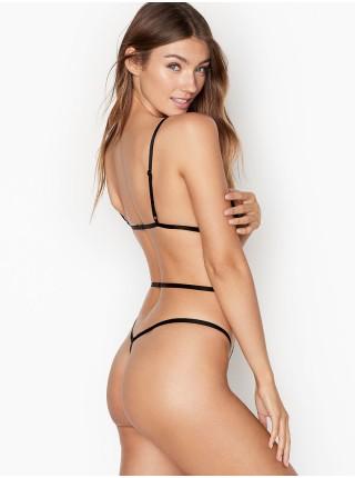 Боди Victoria's Secret Very Sexy Strappy Black Lace
