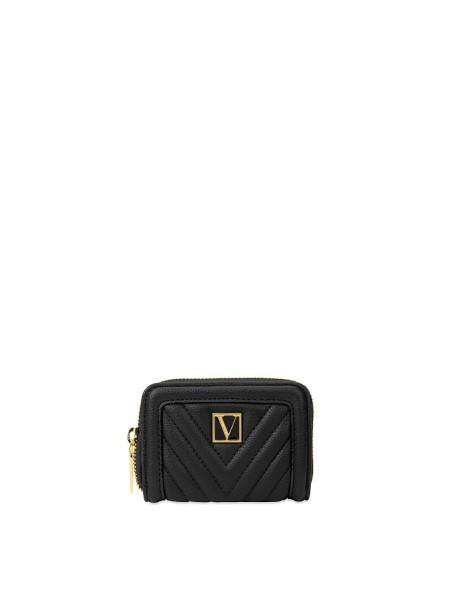 Кошелек Victoria's Secret Small Wallet V-Quilt Black