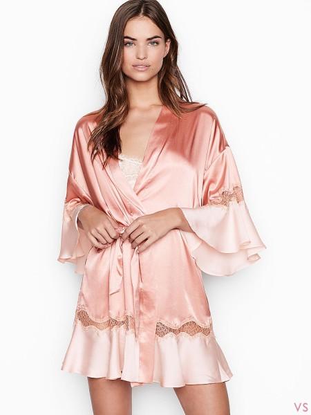 Халат Victoria's Secret Flounce Robe So Rose