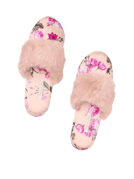 Домашние тапочки VS Signature Satin Slipper Floral Print