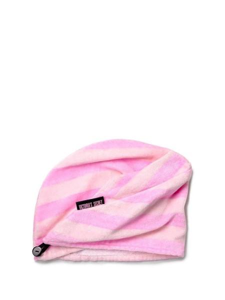 Полотенце для волос Виктория Сикрет Striped Hair Towel