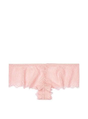 Трусики Victoria's Secret Very Sexy Peacock Pink LaceCheeky Panty