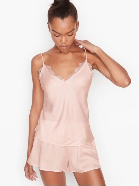 Пижама Victoria's Secret Pink Lace Cami PJ Set