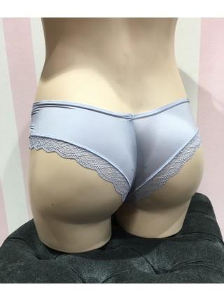 Трусики Victoria's Secret Very Sexy Ring & Lace Сheeky panty Grey