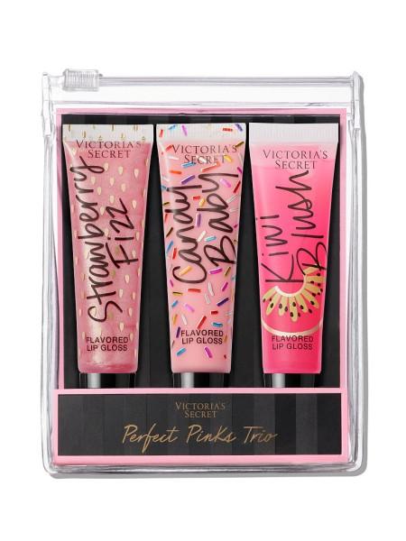 Подарочный набор блесков Victoria's Secret Perfect Pinks Lip Trio