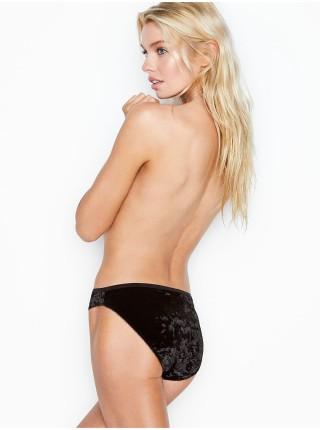 Трусики Victoria's Secret Black Velvet Bikini panty
