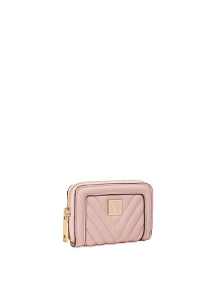 Кошелек Victoria's Secret Small Wallet V-Quilt Orchid Blush