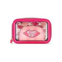 3 в 1 косметичка Victoria's Secret Beauty Bag Trio VS GRAPHIC LIPS