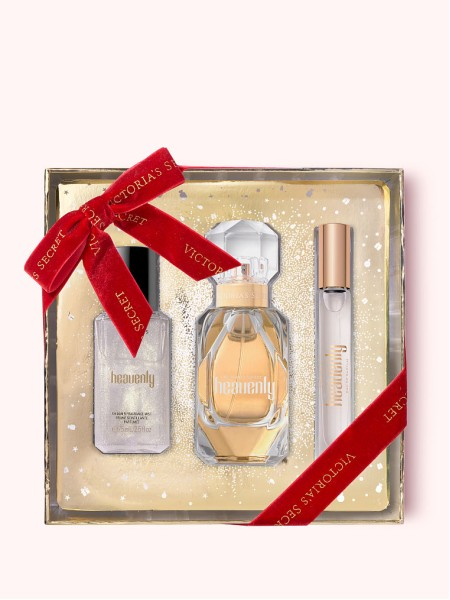 Подарочный набор Heavenly Victoria's Secret Luxe Fine Fragrance Gift Set