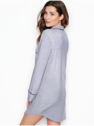Ночная рубашка Victoria's Secret Modal Long-Sleeve Sleepshirt
