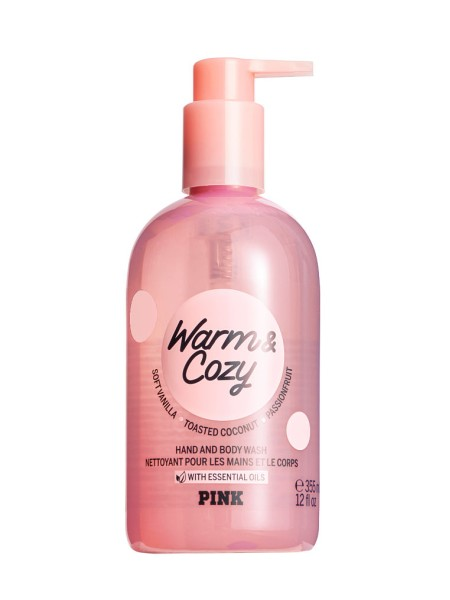 Гель для душа PINK Warm & Cozy Hand and Body Wash