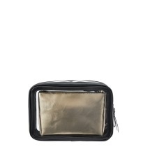 3 в 1 косметичка Victoria's Secret Beauty Bag Trio Black Lily Lace