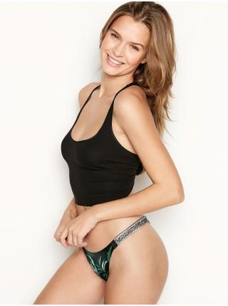 Комплект белья Victoria's Secret Very Sexy Shine Strap Balconette Tropical print