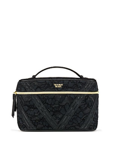Бьюти кейс VICTORIA'S SECRET Floral Lace Runway Train Case