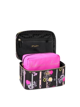 Бьюти кейс VICTORIA'S SECRET Micro Dot Small Weekender Train Case