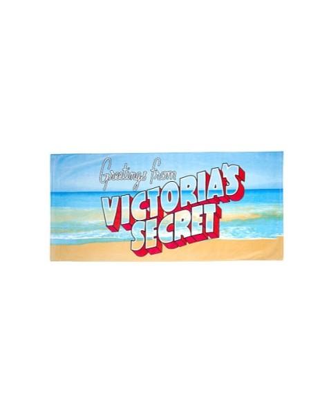 Полотенце для пляжа Victoria's Secret print VS logo sea