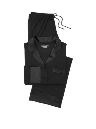 Пижама Victoria's Secret Modal Long Black Pj Set
