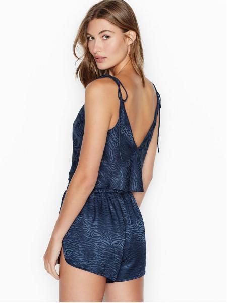 Пижама Victoria's Secret Blue Short PJ Set