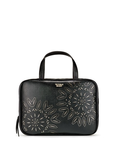 Косметичка Victoria's Secret Laser-Cut Floral Runway Jetsetter Travel Case