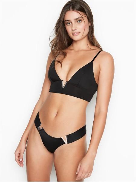 Комплект белья Victoria's Secret Very Sexy Plunge V-Bralette & Brazilian panty
