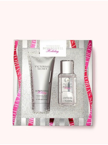 Подарочный набор Victoria's Secret mini mist & lotion Bombshell Holiday