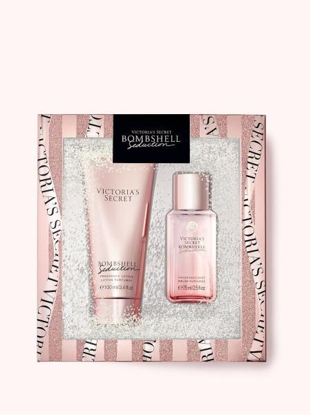 Подарочный набор Victoria's Secret mini mist & lotion Bombshell Seduction