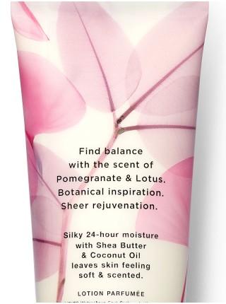 Лосьон Victoria's Secret Pomegranate & Lotus BALANCE