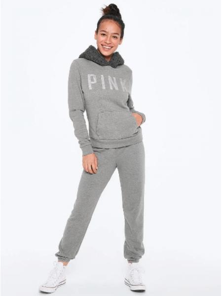 Спортивный костюм Victoria's Secret SPORT PINK grey
