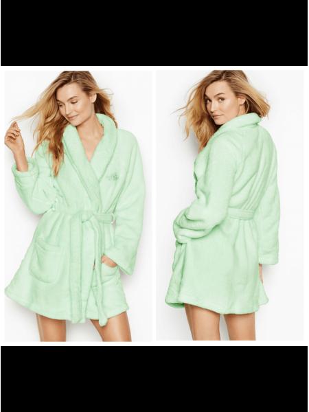 Халат Victoria's Secret Cozy Push Robe Mint