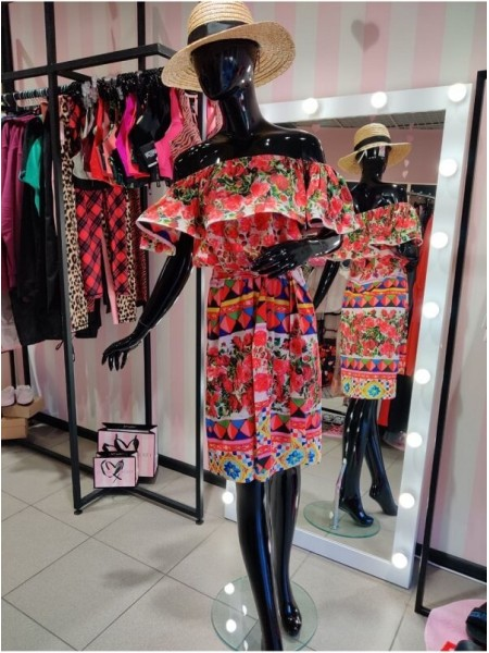 Cuteberry Платье print Dolce Roses