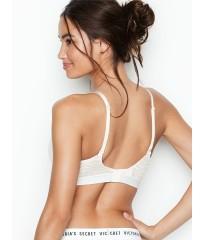 Бюстгальтер Victoria's Secret Logo Bra PERFECT SHAPE - COCONUT WHITE