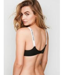 Бюстгальтер Victoria's Secret Logo Bra Lightly Lined Wireless LOGO STRAPS