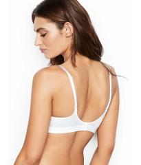 Logo Bra Lighty Lined Wireless White - Бюстгальтер Victoria's Secret