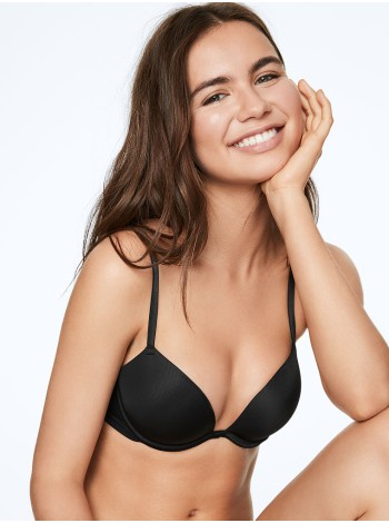 Бюстгальтер Victoria's Secret PINK Super PUSH-UP Bra Black
