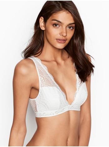 Бюстгальтер Victoria's Secret Logo Bra LACE Bralette