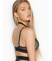 Монокини с перетяжками Victoria's Secret Very Sexy Bra push-up Black