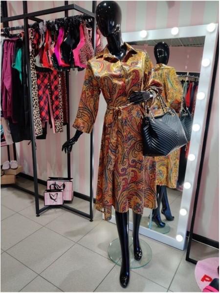 Cuteberry сатиновое платье - цветочный принт
