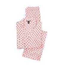 Шелковая пижама Виктория Сикрет Silk Long PJ Set