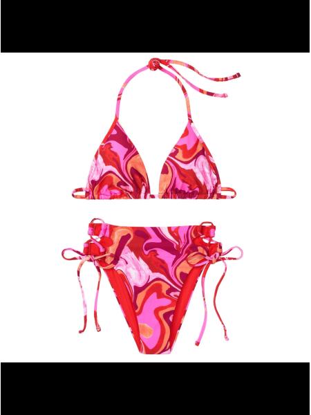 Купальник Triangle Victoria's Secret красочный принт