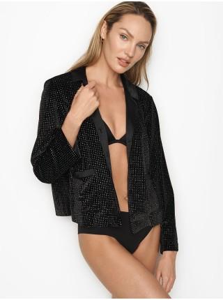 Пижама Victoria's Secret Glitter вельветовая, с шортами