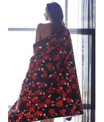 ПЛЕД Victoria's Secret PRINT FLOWERS