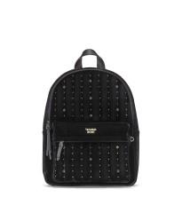 РЮКЗАК Victoria's Secret - Velvet stud city backpack, black