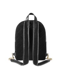 РЮКЗАК Victoria's Secret - Velvet stud city backpack, black