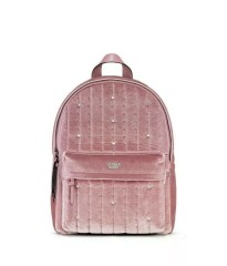 РЮКЗАК Victoria's Secret - Velvet stud city backpack, pink