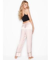 Сатиновые пижама Victoria's Secret Satin PJ SET MAUVE CHALK