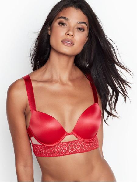 Комплект белья Victoria's SecretVery Sexy Push-up Bra Bright Cherry