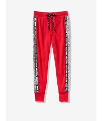 Штаны спортивные красные Victoria's Secret - Red Pepper Sequin Perfect Skinny Jogger - XS(р)