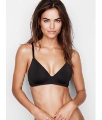 Черный бюстгальтер Victoria's Secret Lightly Lined Wireless Bra Black
